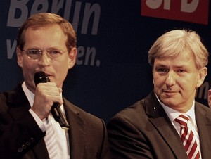 An den Instanzen vorbei: Michael Müller, Klaus Wowereit (beide SPD)