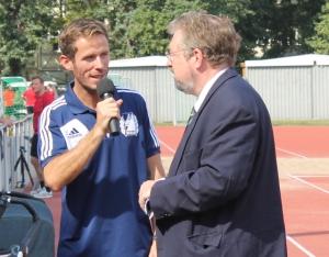 Staatsekretär Anderes  Andreas Statzkowski (rechts)