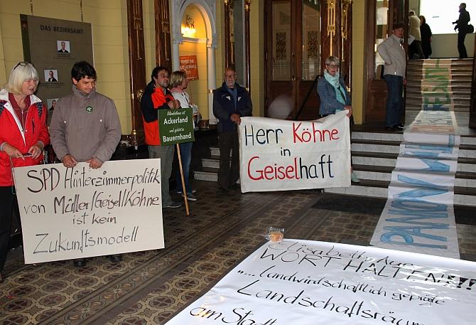 elisabethaue im Pankower Rathaus
