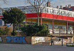 Alte Kaufhalle am Anger, mittlerweile abgerissen