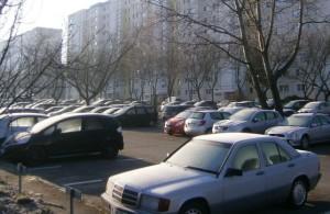 Wohin mit den Autos?