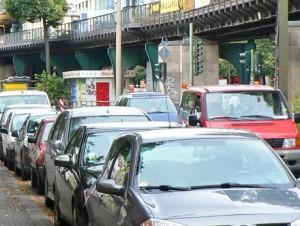 """Der """"ruhende Verkehr"""" soll in die Nebenstraßen verlegt werden"""